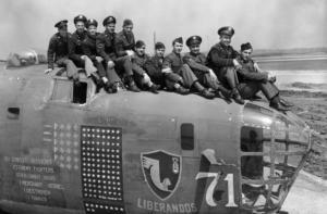 376 Heavy Bombardment Group Team